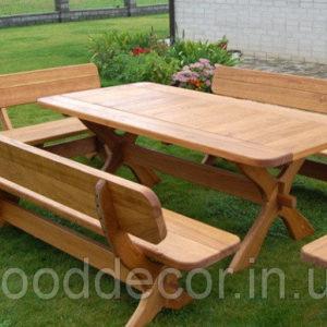 Садовые лавки, стулья и лежаки.
